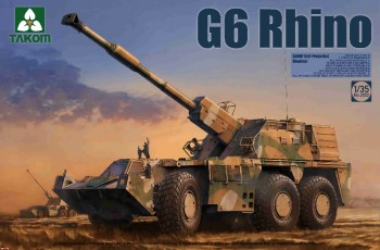 2052 Takom 1/35 G6 Rhino SANDF Self-Propelled Howitzer