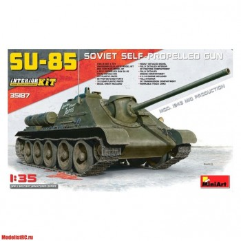 35187 MiniArt 1/35 SU-85 Mod. 1943 (Mid Production)