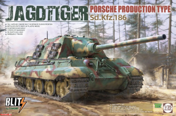 8003 Takom 1/35 JAGDTIGER PORSCHE PRODUCTION