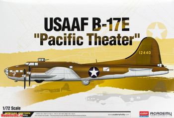 12533 Academy 1/72 Самолёт B-17E Flying Fortress 'Pacific Theater'