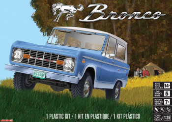 14320 Автомобиль Ford Bronco Revell (1:24)