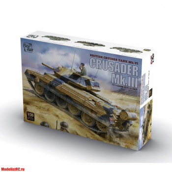 BT-012 CRUSADER MK.III BRITISH CRUISER TANK MK. VI 135 Border Model