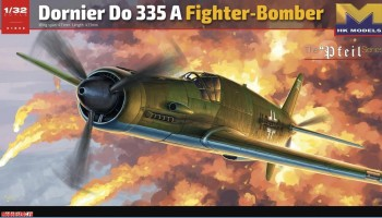 01E08 HK model 1/32 Dornier Do 335 A Fighter Bomber The