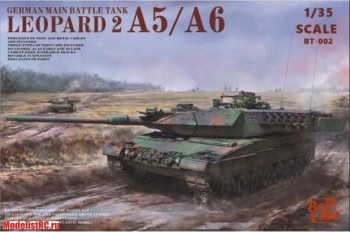 BT-002 135 Leopard 2A5/A6 Early/Late Border Model