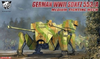 Fist of War German WWII sdkfz 553/A medium fighting Mech UA35004 1/35 Modelcollect