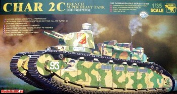 TS-009 MENG 1/35 Танк French Super Heavy Tank