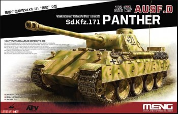 TS-038 Meng 1/35 Sd.Kfz.171 Panther ausf. D