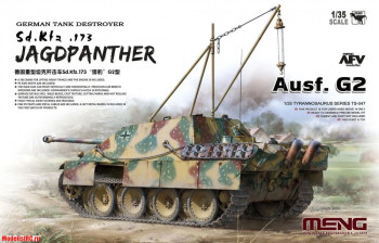 TS-047 Meng 1/35 German Tank Destroyer Sd.Kfz. 173 Jagdpanther Ausf. G2