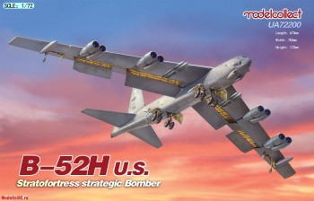 UA72200 1/72 Modelcollect B-52H U.S. Stratofortress Strategic Bomber