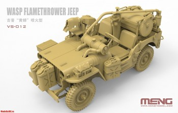 VS-012 Meng1/35 MB Military Vehicle WASP Flamethrower