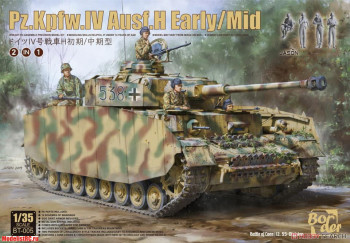 BT-005 1/35 Pz.Kpfw.IV Ausf.H Early/Mid 2 in 1 Border Model